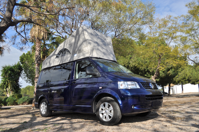 Plateau coulissant extractible VW California Beach