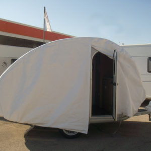 bache protection camping car