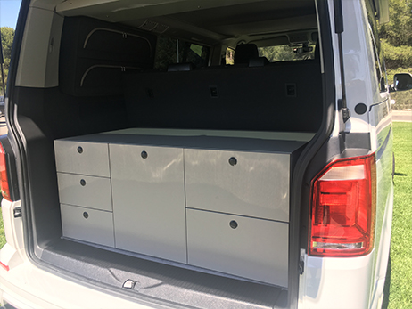 Aménagement amovible pour VW California T5/T6 Multivan